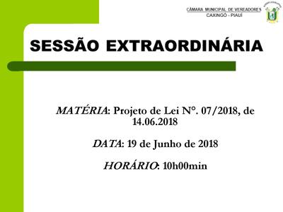 Câmara Municipal convoca sessões extraordinárias para 19 de Junho de 2018