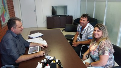 Presidente da Câmara Municipal participa de audiência com Secretário de Saúde Florentino Neto